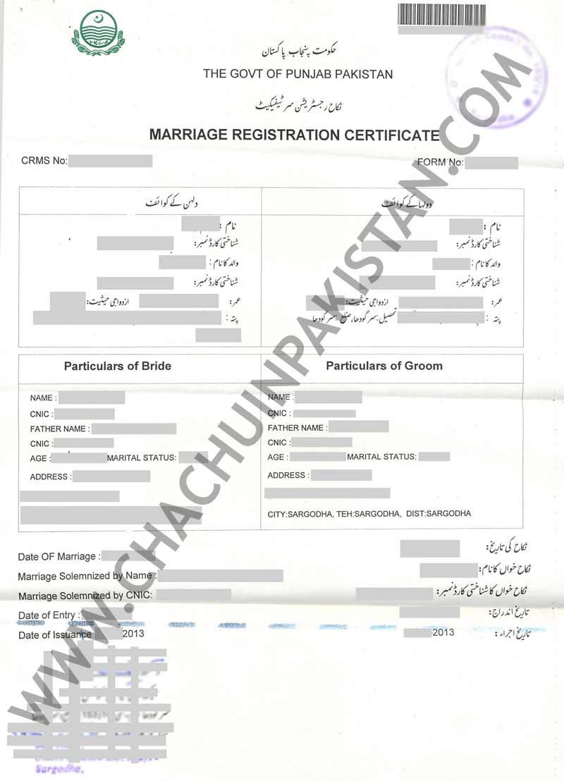 Perfecto Nadra Birth Certificate Application Form Colección de ...